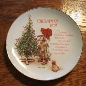 1978 Holly Hobbie plate
